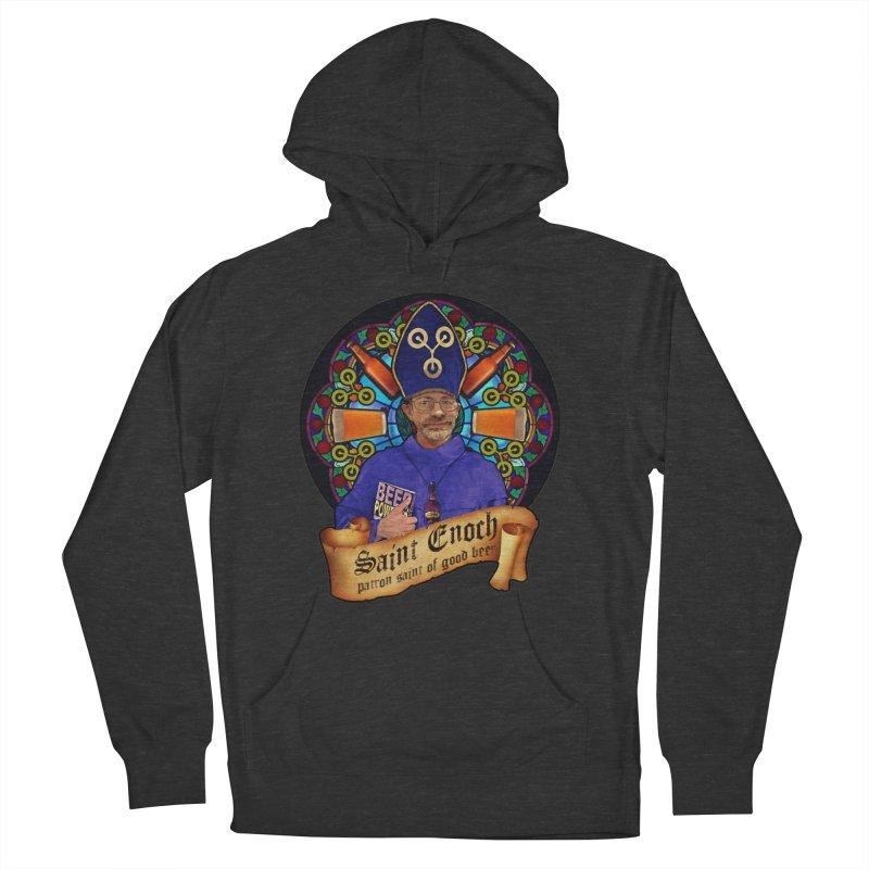 Saint Enoch Men's Pullover Hoody by Comedyrockgeek 's Artist Shop