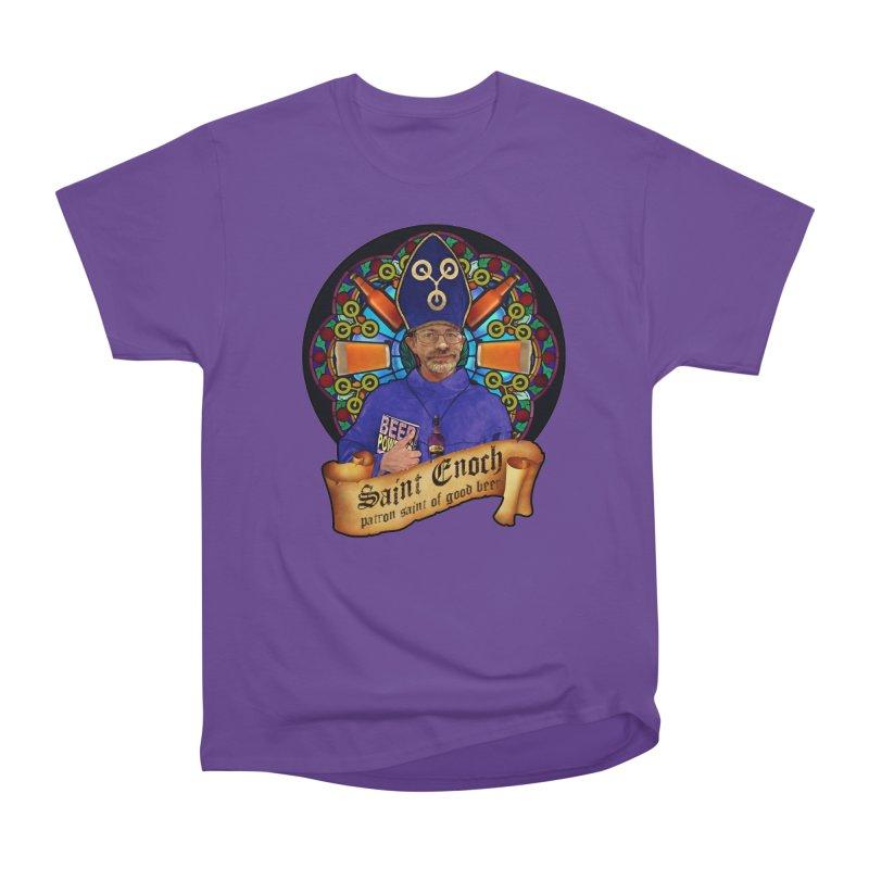 Saint Enoch Women's Heavyweight Unisex T-Shirt by Comedyrockgeek 's Artist Shop