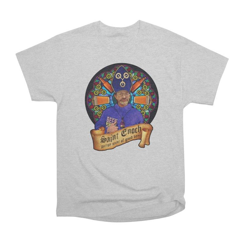 Saint Enoch Women's Classic Unisex T-Shirt by Comedyrockgeek 's Artist Shop