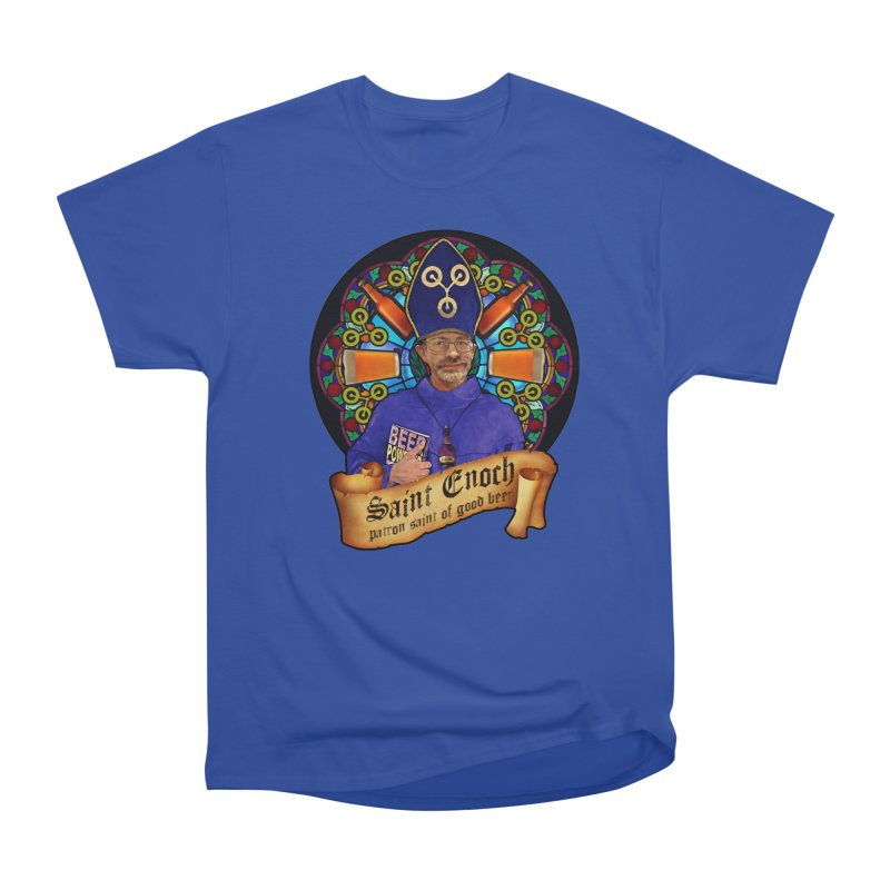 Saint Enoch Men's Classic T-Shirt by Comedyrockgeek 's Artist Shop