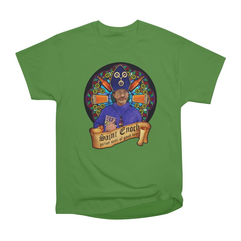 Saint Enoch Men's Classic T-Shirt by Comedyrockgeek 's Artist Shop