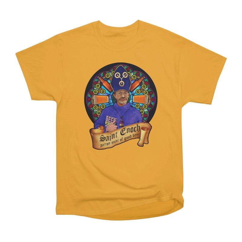 Saint Enoch Men's Heavyweight T-Shirt by Comedyrockgeek 's Artist Shop
