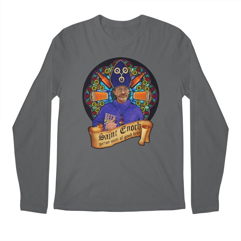 Saint Enoch Men's Longsleeve T-Shirt by Comedyrockgeek 's Artist Shop