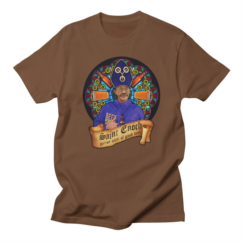 Saint Enoch Men's T-Shirt by Comedyrockgeek 's Artist Shop