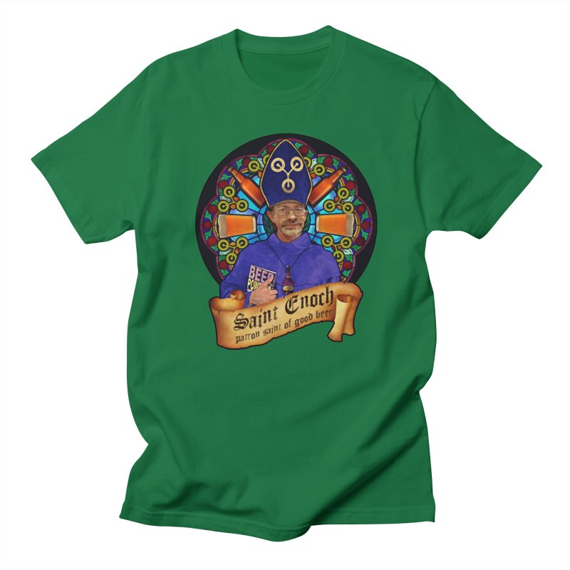 Saint Enoch Men's T-Shirt by Comedyrockgeek 's Artist Shop