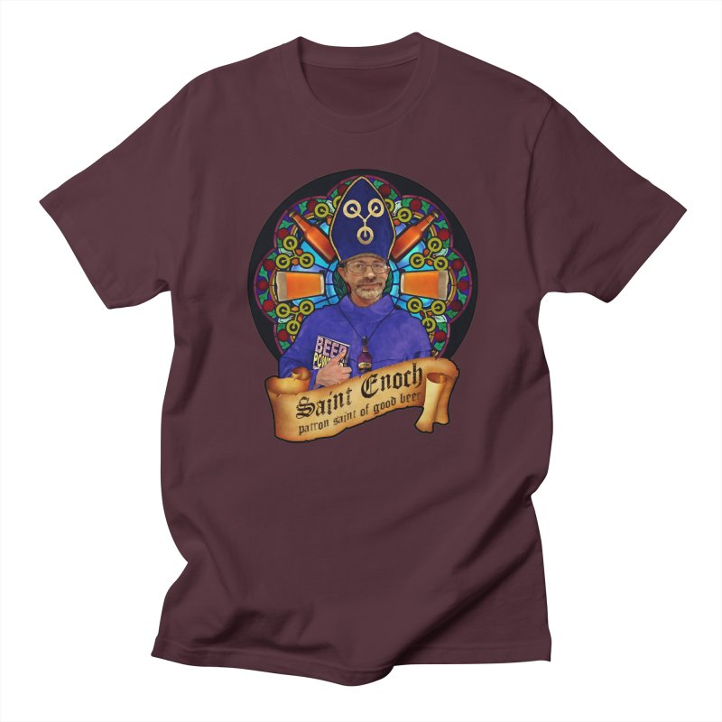 Saint Enoch Women's Regular Unisex T-Shirt by Comedyrockgeek 's Artist Shop