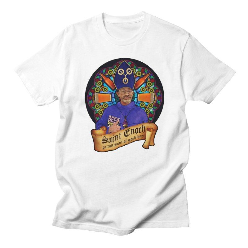Saint Enoch Women's Regular Unisex T-Shirt by Comedyrockgeek 's Artist Shop