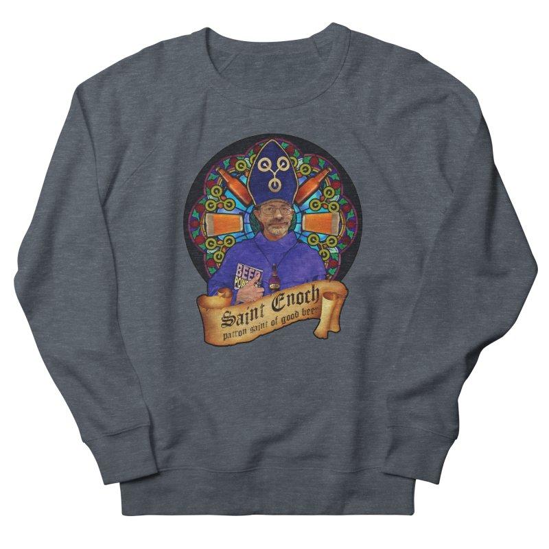 Saint Enoch Women's French Terry Sweatshirt by Comedyrockgeek 's Artist Shop