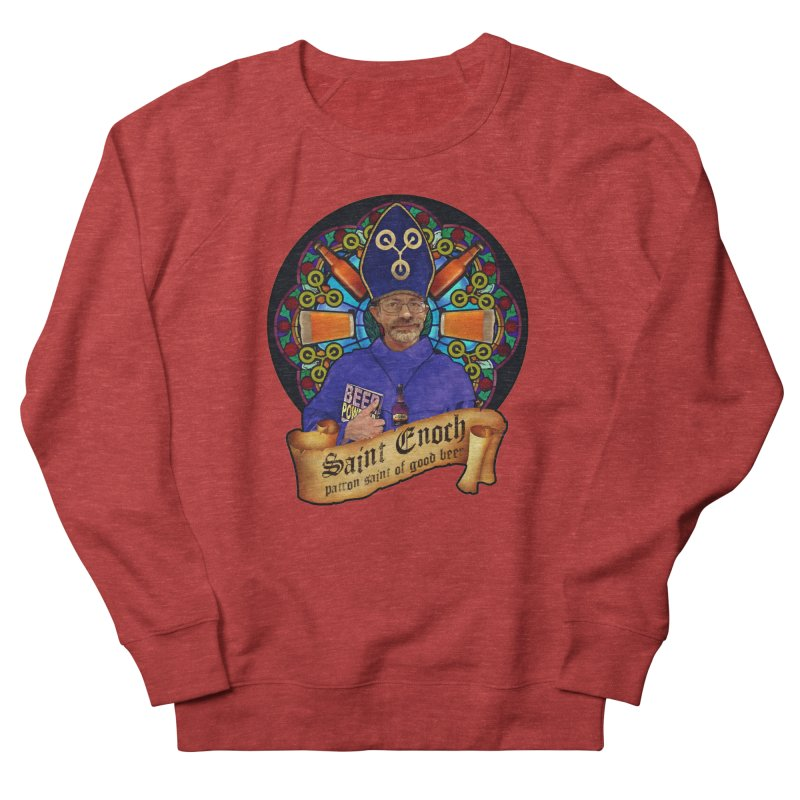 Saint Enoch Women's French Terry Sweatshirt by Comedyrockgeek 's Artist Shop