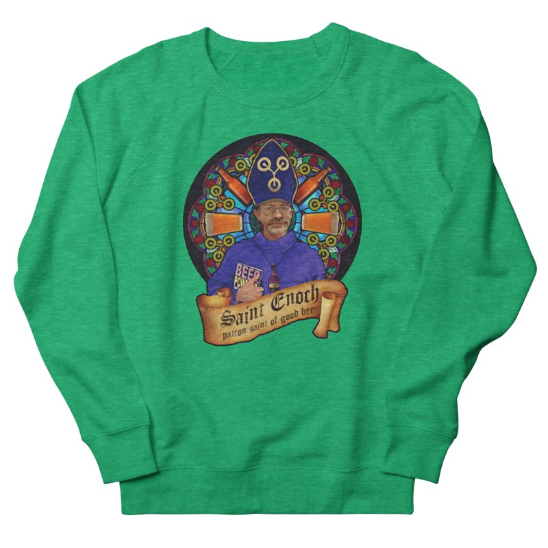 Saint Enoch Men's French Terry Sweatshirt by Comedyrockgeek 's Artist Shop
