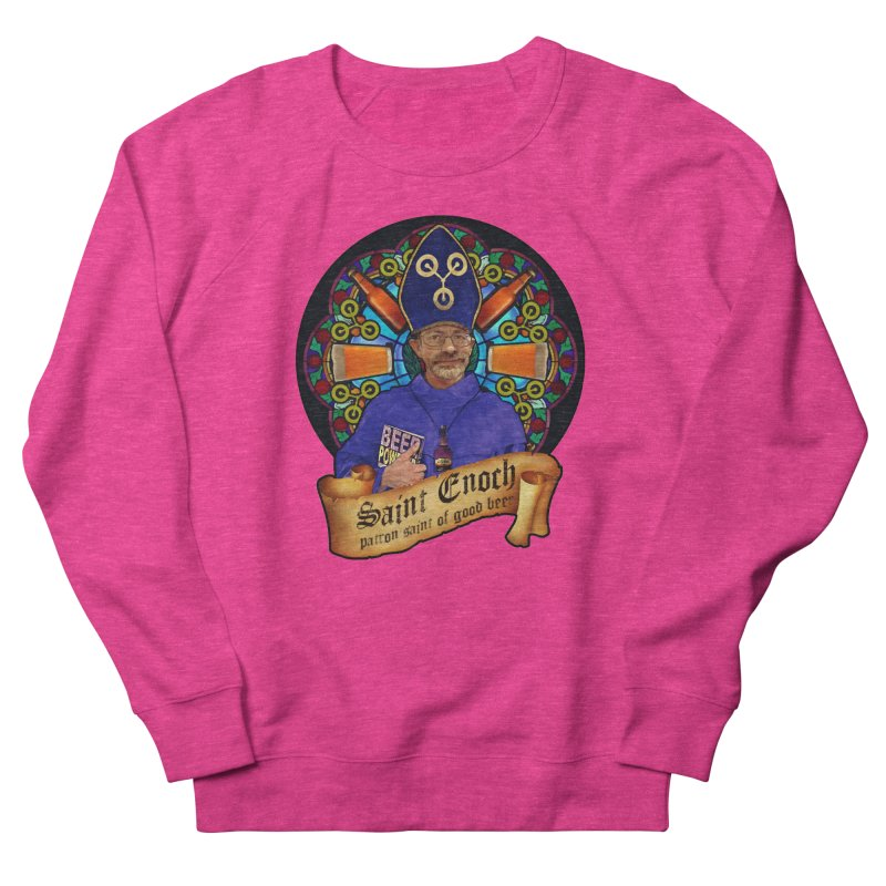 Saint Enoch Men's French Terry Sweatshirt by Comedyrockgeek 's Artist Shop
