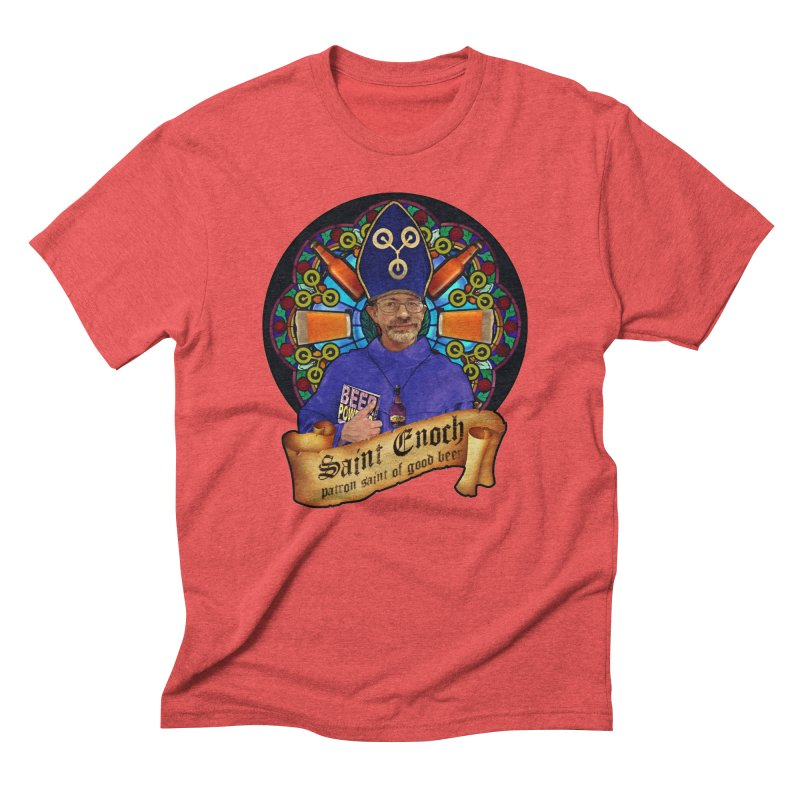 Saint Enoch Men's Triblend T-Shirt by Comedyrockgeek 's Artist Shop