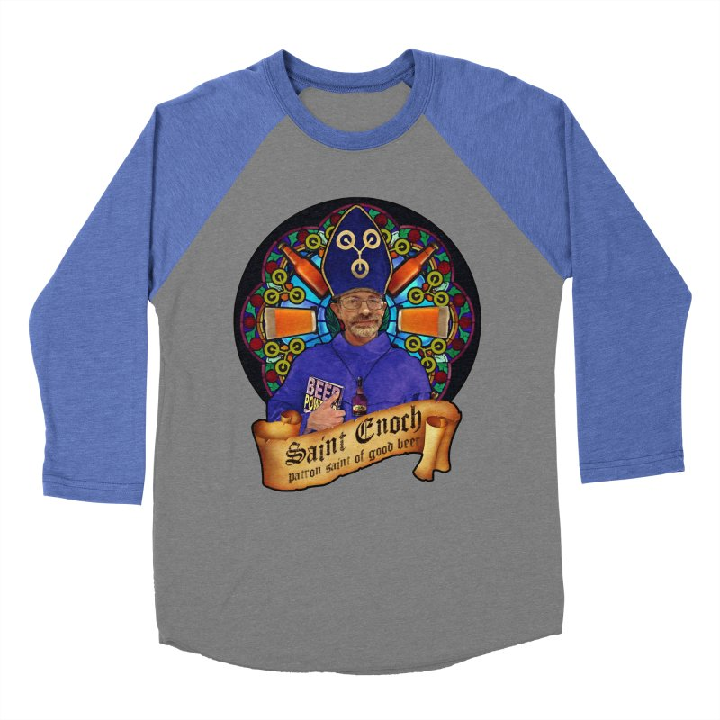 Saint Enoch Women's Baseball Triblend T-Shirt by Comedyrockgeek 's Artist Shop