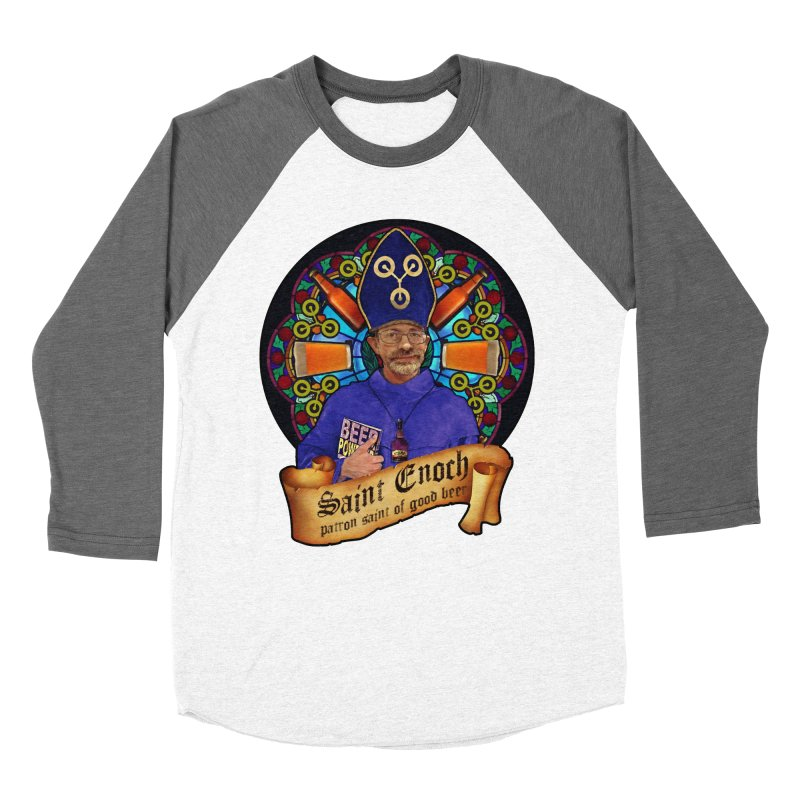 Saint Enoch Men's Baseball Triblend T-Shirt by Comedyrockgeek 's Artist Shop