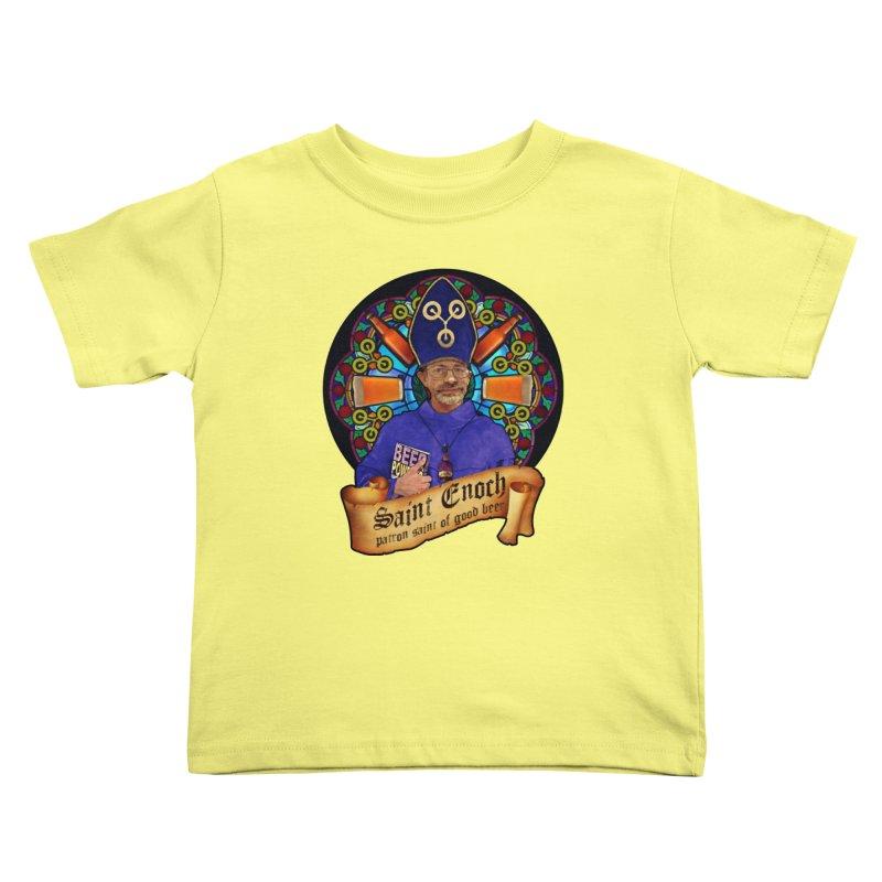 Saint Enoch Kids Toddler T-Shirt by Comedyrockgeek 's Artist Shop
