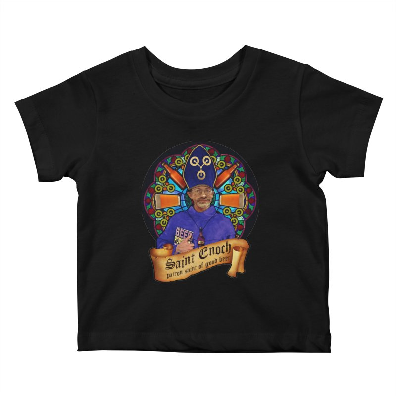 Saint Enoch Kids Baby T-Shirt by Comedyrockgeek 's Artist Shop