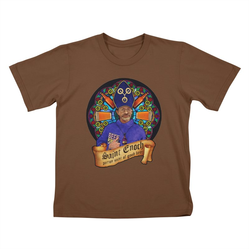 Saint Enoch Kids T-Shirt by Comedyrockgeek 's Artist Shop