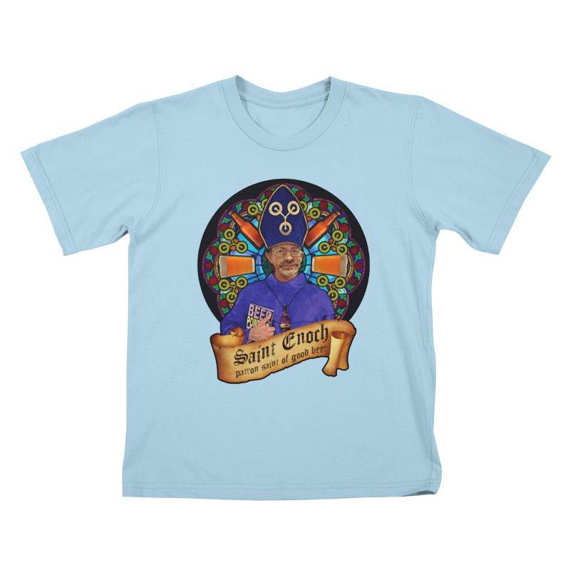 Saint Enoch Kids T-Shirt by Comedyrockgeek 's Artist Shop