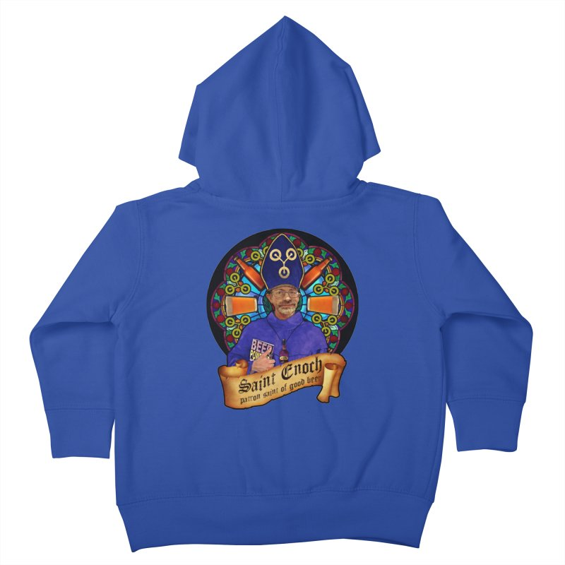 Saint Enoch Kids Toddler Zip-Up Hoody by Comedyrockgeek 's Artist Shop