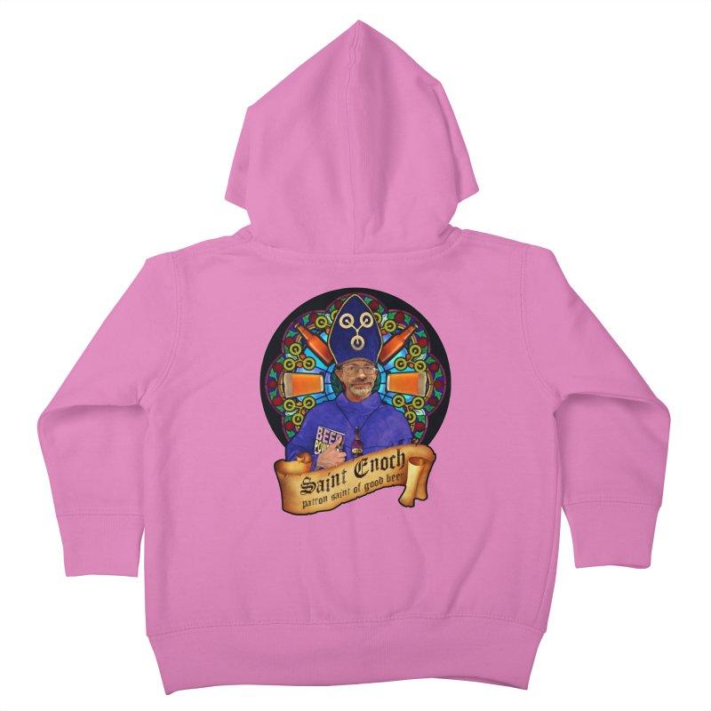 Saint Enoch Kids Toddler Zip-Up Hoody by Comedyrockgeek 's Artist Shop