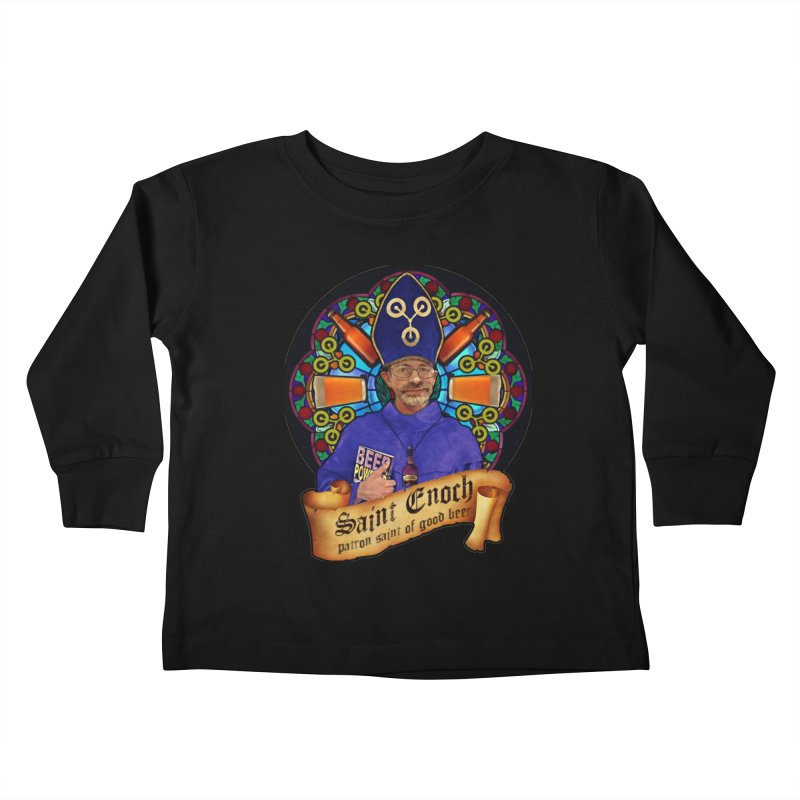 Saint Enoch Kids Toddler Longsleeve T-Shirt by Comedyrockgeek 's Artist Shop