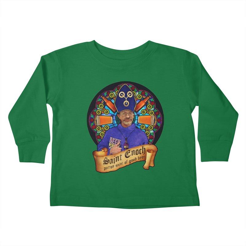Saint Enoch Kids Toddler Longsleeve T-Shirt by Comedyrockgeek 's Artist Shop