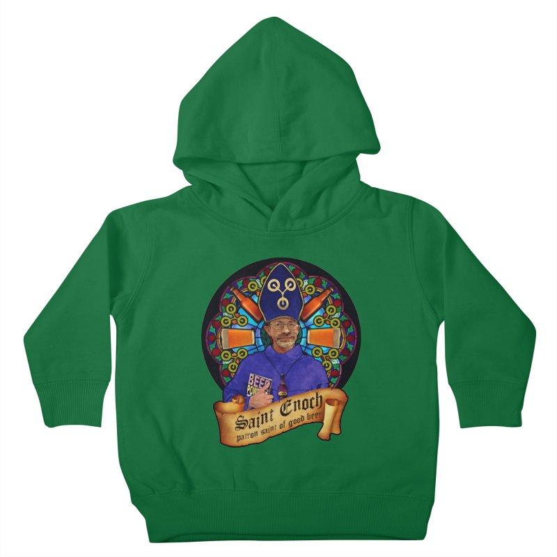 Saint Enoch Kids Toddler Pullover Hoody by Comedyrockgeek 's Artist Shop