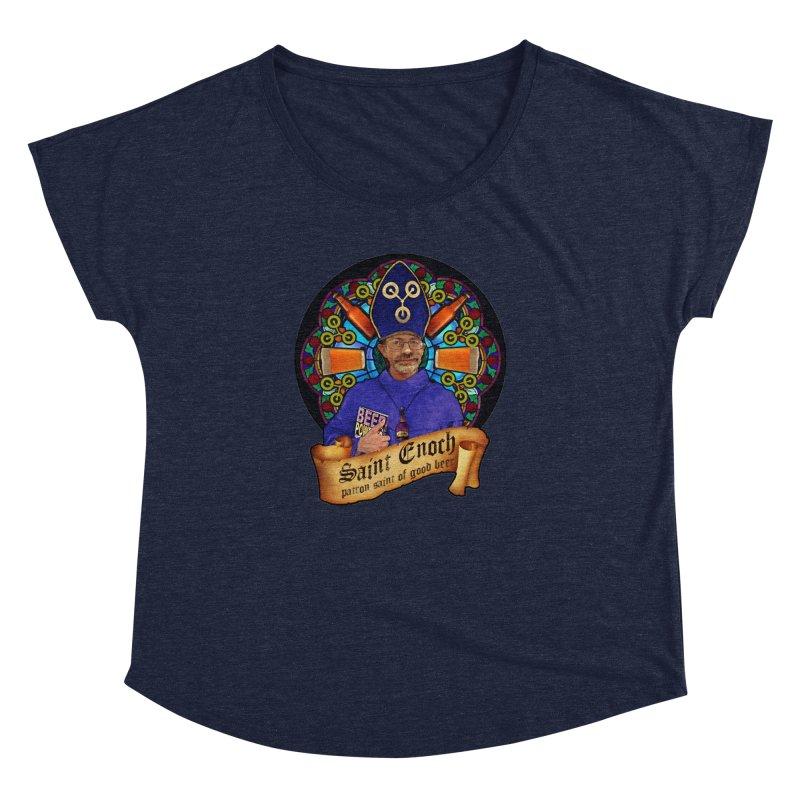 Saint Enoch Women's Dolman Scoop Neck by Comedyrockgeek 's Artist Shop