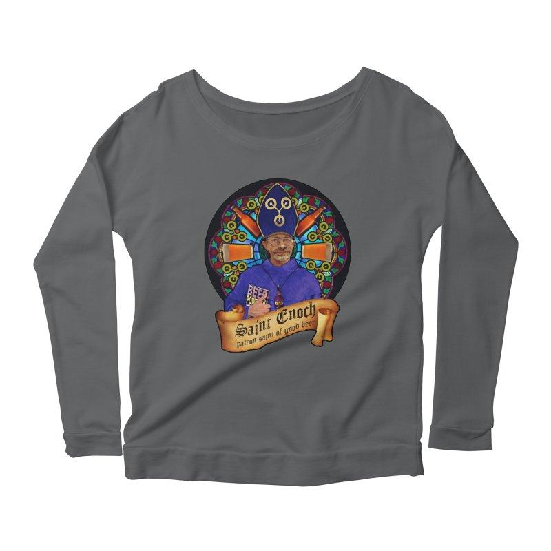 Saint Enoch Women's Scoop Neck Longsleeve T-Shirt by Comedyrockgeek 's Artist Shop