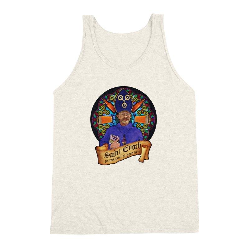Saint Enoch Men's Triblend Tank by Comedyrockgeek 's Artist Shop