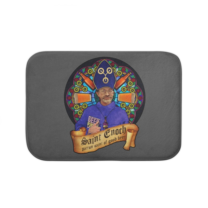 Saint Enoch Home Bath Mat by Comedyrockgeek 's Artist Shop