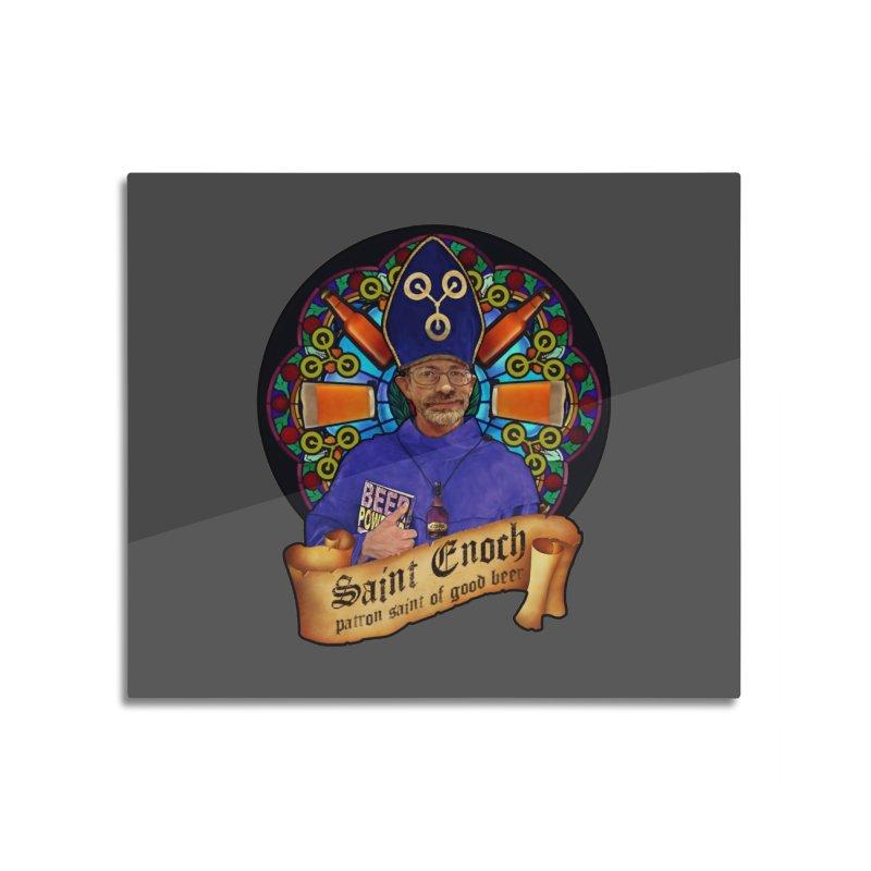 Saint Enoch Home Mounted Aluminum Print by Comedyrockgeek 's Artist Shop