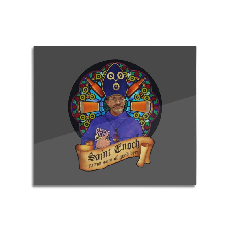 Saint Enoch Home Mounted Acrylic Print by Comedyrockgeek 's Artist Shop