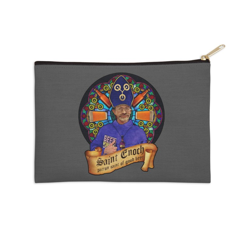 Saint Enoch Accessories Zip Pouch by Comedyrockgeek 's Artist Shop