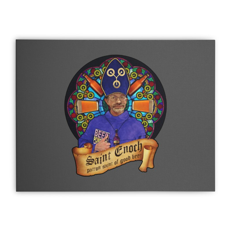 Saint Enoch Home Stretched Canvas by Comedyrockgeek 's Artist Shop