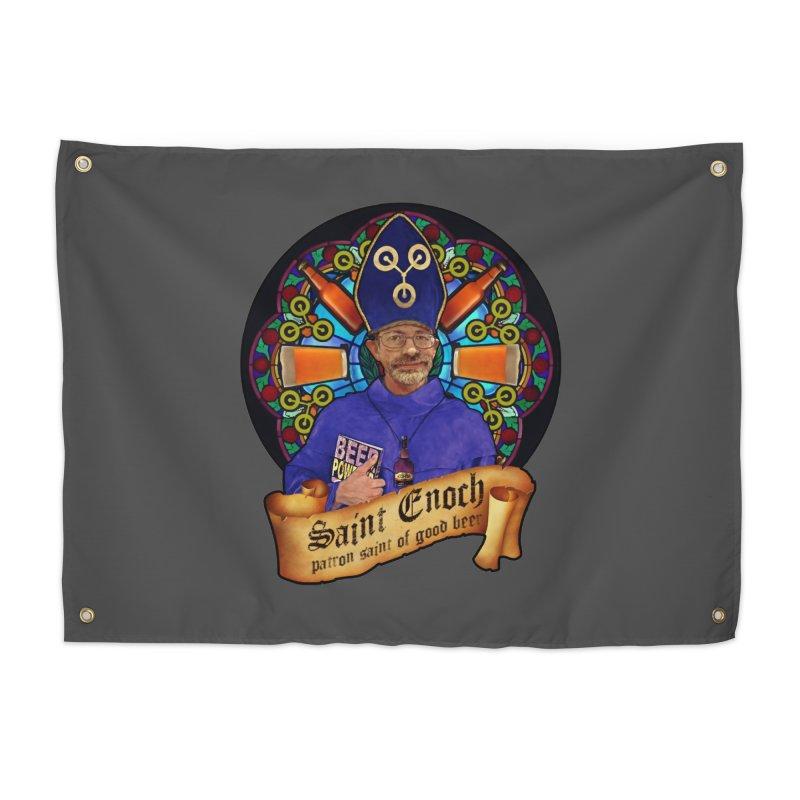 Saint Enoch Home Tapestry by Comedyrockgeek 's Artist Shop