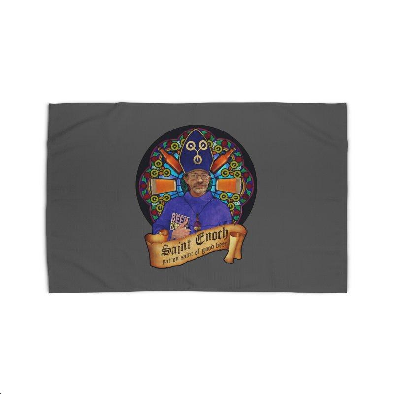 Saint Enoch Home Rug by Comedyrockgeek 's Artist Shop