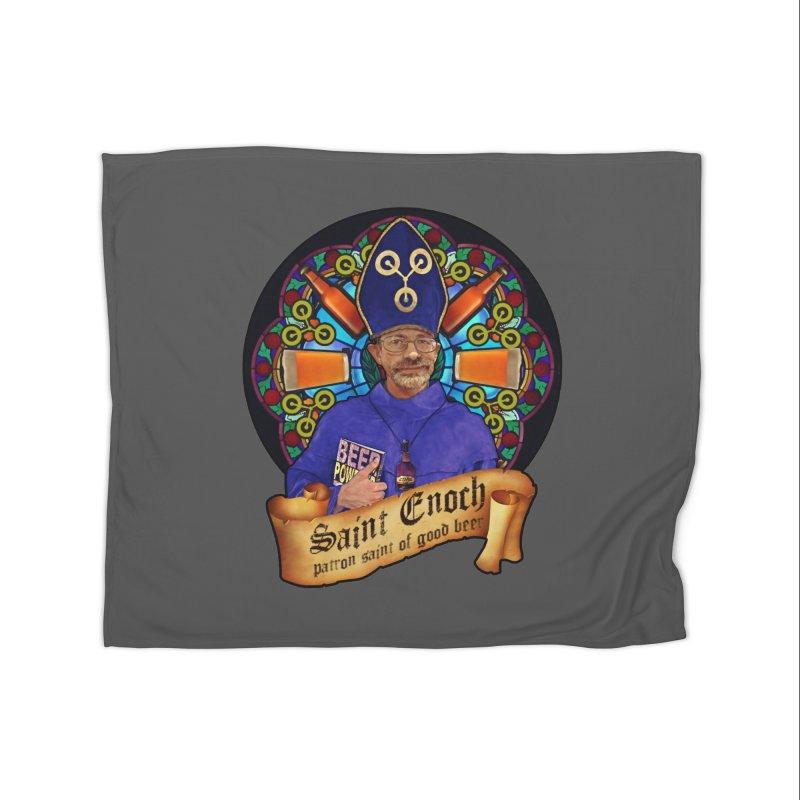 Saint Enoch Home Fleece Blanket Blanket by Comedyrockgeek 's Artist Shop