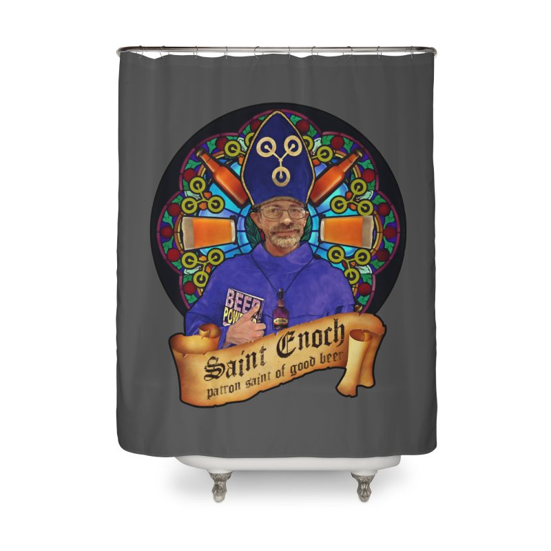 Saint Enoch Home Shower Curtain by Comedyrockgeek 's Artist Shop