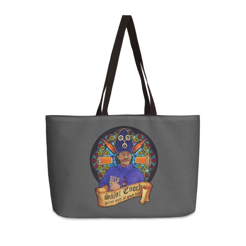 Saint Enoch Accessories Weekender Bag Bag by Comedyrockgeek 's Artist Shop