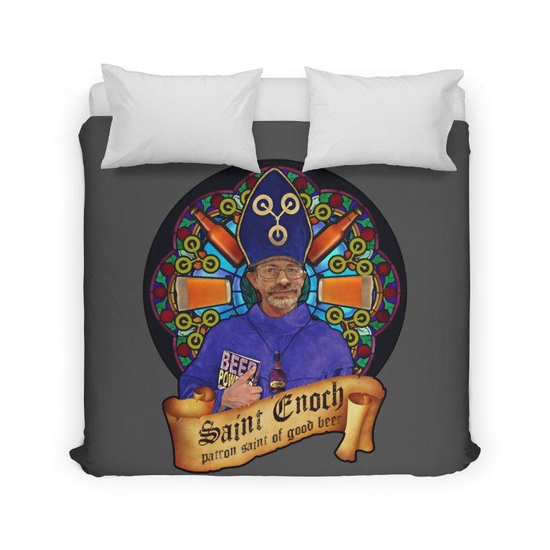 Saint Enoch Home Duvet by Comedyrockgeek 's Artist Shop