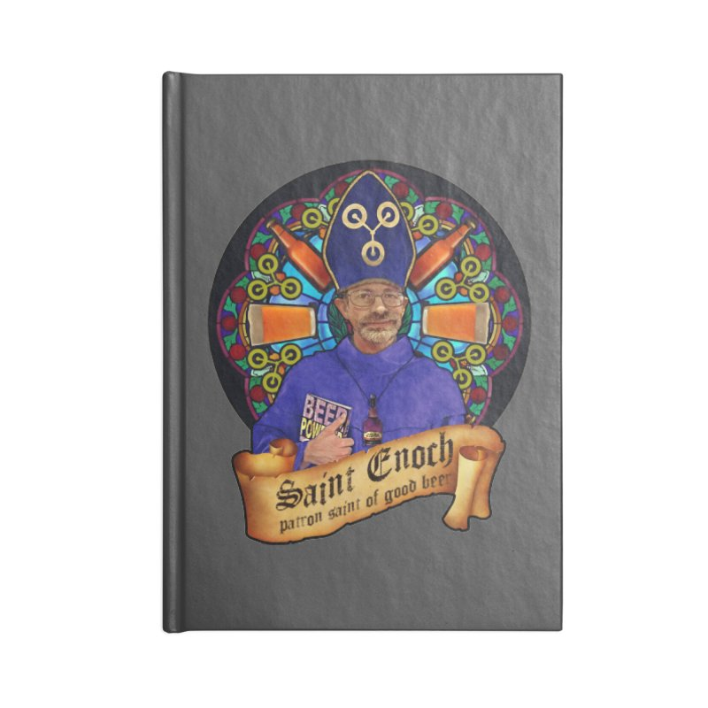 Saint Enoch Accessories Lined Journal Notebook by Comedyrockgeek 's Artist Shop
