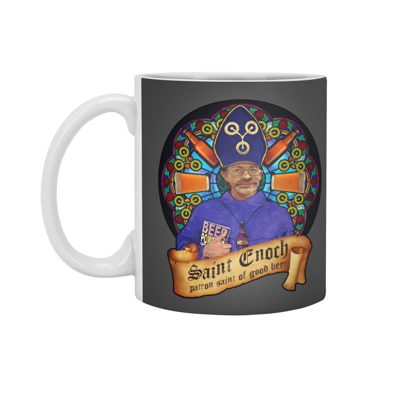 Saint Enoch Accessories Mug by Comedyrockgeek 's Artist Shop