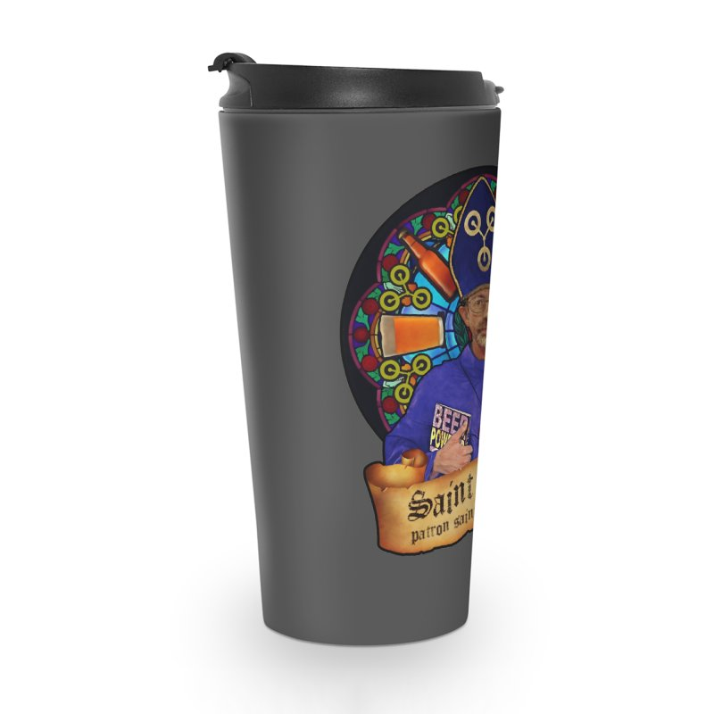Saint Enoch Accessories Travel Mug by Comedyrockgeek 's Artist Shop