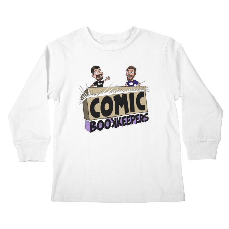 Comic Book Keepers! Kids Longsleeve T-Shirt by ComicBookKeepers's Artist Shop