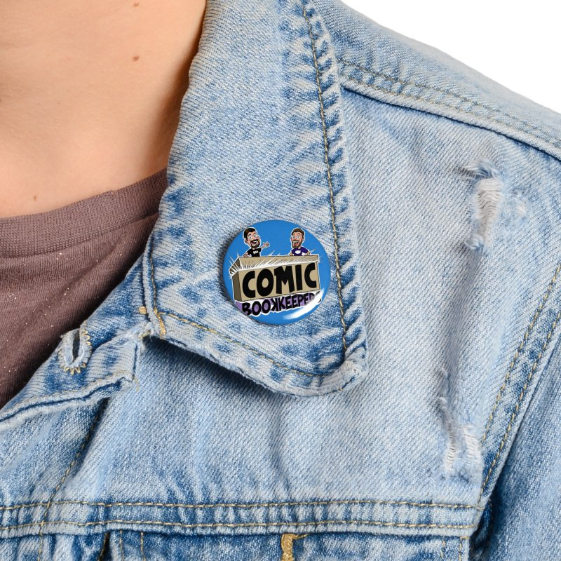 Comic Book Keepers! Accessories Button by ComicBookKeepers's Artist Shop