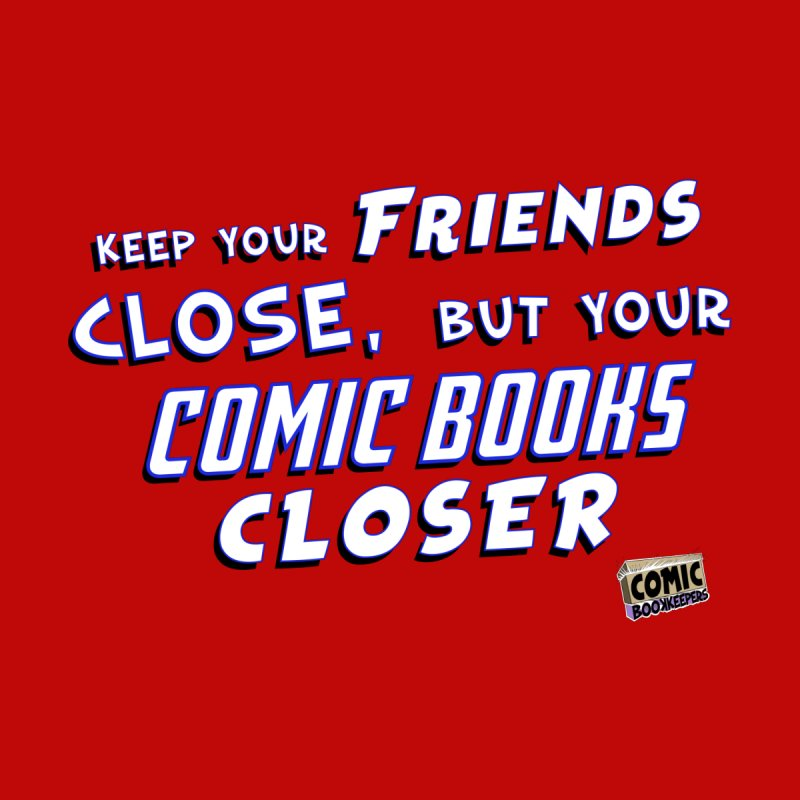 Friends and Comics Accessories Notebook by ComicBookKeepers's Artist Shop