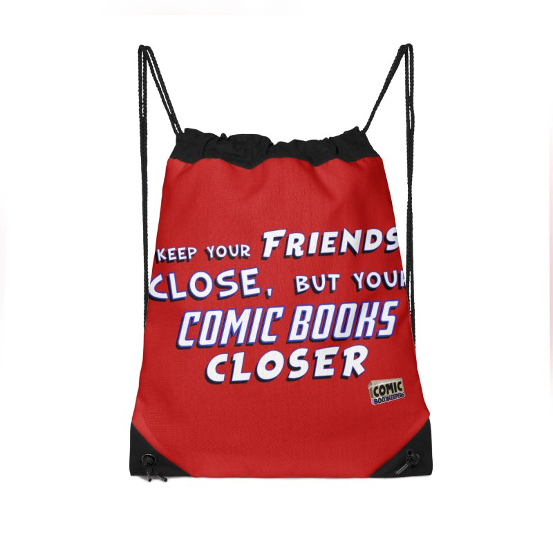 Friends and Comics Accessories Bag by ComicBookKeepers's Artist Shop
