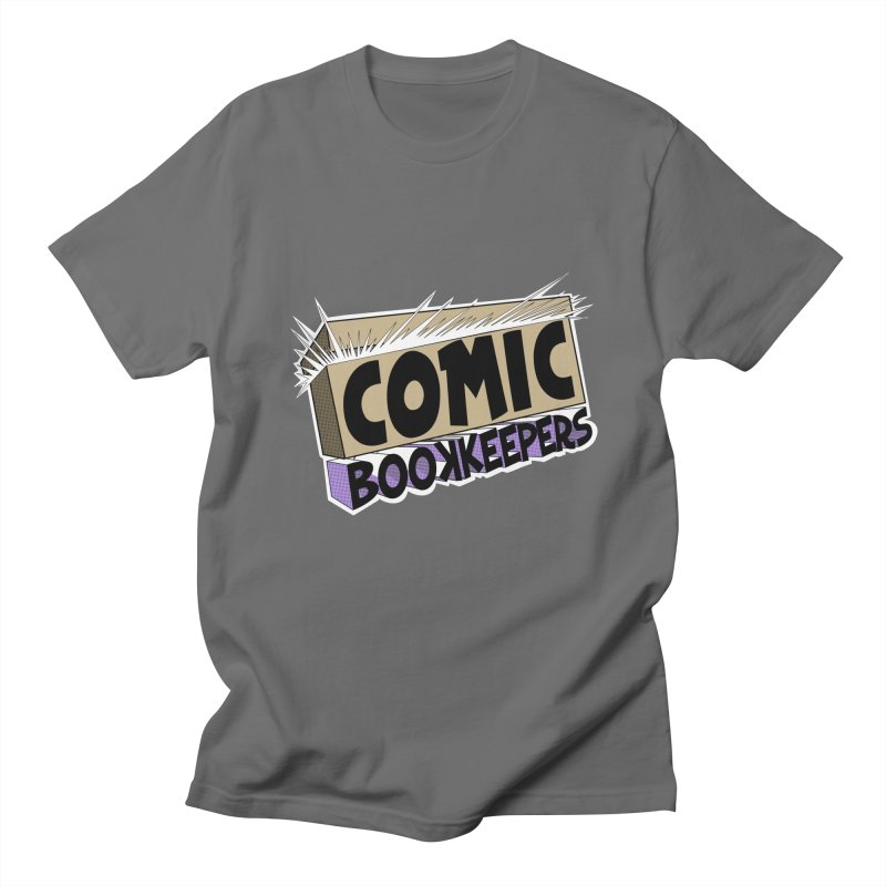 Comic Book Keepers Long-Box Men's T-Shirt by ComicBookKeepers's Artist Shop