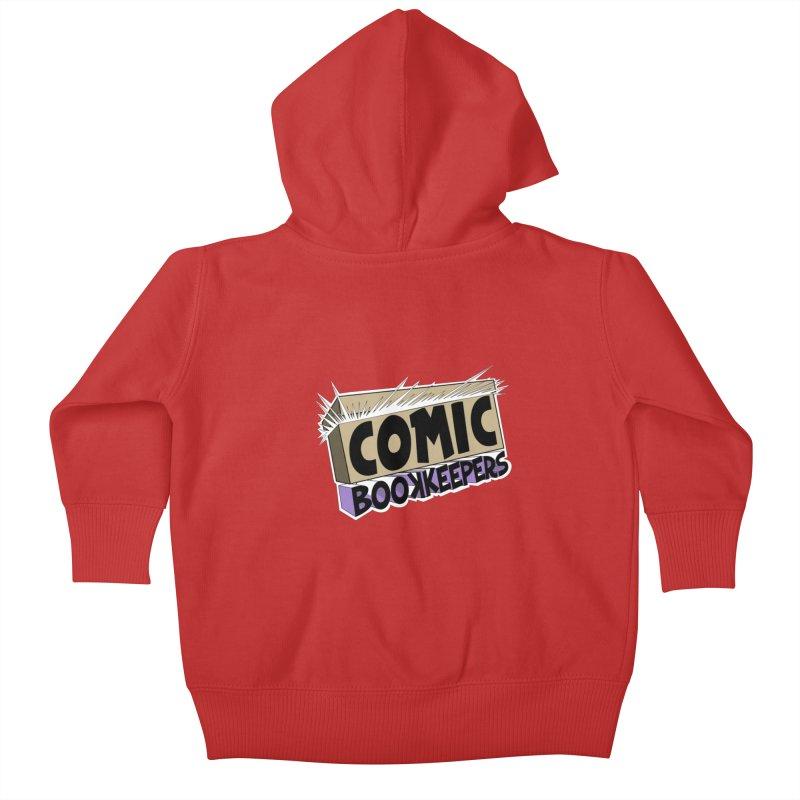 Comic Book Keepers Long-Box Kids Baby Zip-Up Hoody by ComicBookKeepers's Artist Shop